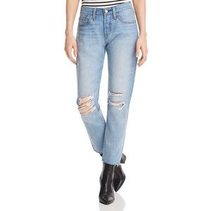 LEVI'S 501 TAPER WEDGIE JEANS IN BUENA NOCHE